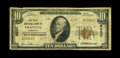 National Bank Notes:Arkansas, Gravette, AR - $10 1929 Ty. 2 The First NB Ch. # 8237. A tougher one bank community, with the census standing at nine la...