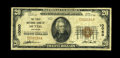 Huttig, AR - $20 1929 Ty. 1 The First NB Ch. # 10060 This is a truly rare note which comes from the only bank to issue...