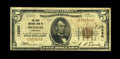 National Bank Notes:Arkansas, McGehee, AR - $5 1929 Ty. 1 The First NB Ch. # 13280. This was McGehee's only bank, with fives the sole denomination iss...
