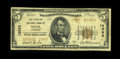 National Bank Notes:Arkansas, Mena, AR - $5 1929 Ty. 2 The Planters NB Ch. # 13693. Type two examples only from this high charter Mena bank. About F...