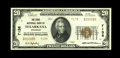 Texarkana, AR - $20 1929 Ty. 2 The State NB Ch. # 7138 A high grade example from this bi-state community. Only 150 shee...