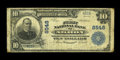 National Bank Notes:Colorado, Akron, CO - $10 1902 Plain Back Fr. 626 The First NB Ch. # 8548.This is a very scarce note from a bank which issued lar...