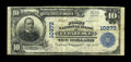National Bank Notes:Colorado, Cedaredge, CO - $10 1902 Plain Back Fr. 628 The First NB Ch. #10272. The large census from here includes just seven exa...