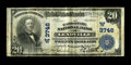 National Bank Notes:Colorado, Leadville, CO - $20 1902 Plain Back Fr. 652 The Carbonate NB Ch. #(W)3746. A more than acceptable example from this sou...