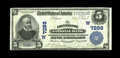 National Bank Notes:Colorado, Montrose, CO - $5 1902 Plain Back Fr. 598 The Montrose NB Ch. #(W)7288. A lovely example which is very close in grade t...