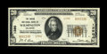 National Bank Notes:Delaware, Wilmington, DE - $20 1929 Ty. 2 The Union NB Ch. # 1390. This Choice About Uncirculated example is the nicest of the...