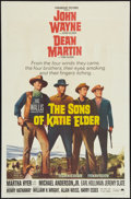 """Movie Posters:Western, The Sons of Katie Elder (Paramount, 1965). One Sheet (27"""" X 41"""").Western.. ..."""