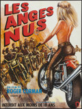 """Movie Posters:Exploitation, Naked Angels (Alpha France, 1970). French Affiche (23.5"""" X 31.5""""). Exploitation.. ..."""