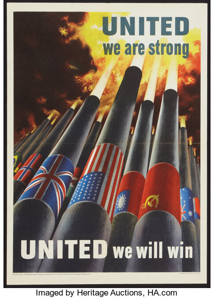 movie postersmiscellaneous war propaganda poster us government printing office 1943