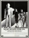 "Movie Posters:Science Fiction, The Day the Earth Stood Still (Films Incorporated, R-1970s). 16MMFilm Rental Poster (17"" X 22""). Science Fiction.. ..."