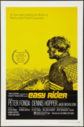 """Movie Posters:Drama, Easy Rider (Columbia, 1969). One Sheet (27"""" X 41"""") Style A. Drama.. ..."""