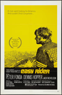 """Easy Rider (Columbia, 1969). One Sheet (27"""" X 41"""") Style A. Drama"""