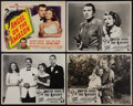 """Movie Posters:Adventure, Angel on the Amazon (Republic, 1948). U.S. Title Lobby Card andAustralian Lobby Card Set of 8 (11"""" X 14""""). Adventure.. ... (Total:9 Items)"""