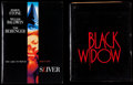 """Movie Posters:Thriller, Black Widow and Other Lot (20th Century Fox, 1987). Presskits (2) (Multiple Pages, 9"""" X 11.5"""") with Photos (9) (8"""" X 10""""). T... (Total: 11 Items)"""