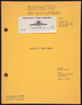 "Movie Posters:Musical, An American in Paris (MGM, 1951). Shooting Script (Seven Pages, 9"" X 11""). Musical.. ..."