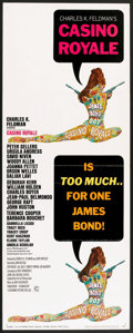 "Movie Posters:James Bond, Casino Royale (Columbia, 1967). Insert (14"" X 36""). James Bond.. ..."