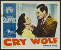 """Movie Posters:Mystery, Cry Wolf and Others Lot (Warner Brothers, 1947). Lobby Cards (4)(11"""" X 14""""). Mystery.. ... (Total: 4 Items)"""