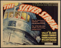 "Movie Posters:Action, The Silver Streak (RKO, 1934). Half Sheet (22"" X 28""). Action.. ..."