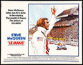 "Movie Posters:Sports, Le Mans (National General, 1971). Half Sheet (22"" X 28""). Sports.. ..."