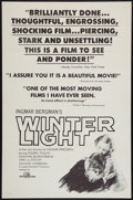"""Movie Posters:Drama, Winter Light & Others Lot (Svensk Filmindustri, 1963). One Sheets (4) (27"""" X 41""""). Drama.. ... (Total: 4 Items)"""