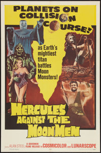 """Hercules Against the Moon Men and Other Lot (Governor Films, 1965). One Sheets (2) (27"""" X 41""""). Fantasy. ... (..."""