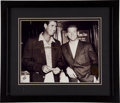 Baseball Collectibles:Photos, Ted Williams Signed Photograph - Pictured with Mickey Mantle!...