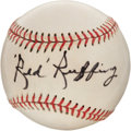 "Autographs:Baseballs, Circa 1960 Charles ""Red"" Ruffing Single Signed Baseball...."