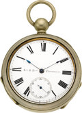 Timepieces:Pocket (pre 1900) , George P. Reed Rare Pocket Chronometer No. 25, circa 1865. ...