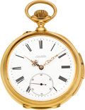 Timepieces:Pocket (pre 1900) , Paul Buhre St. Petersburg Fine Russian Market Gold Minute Repeater,circa 1893. ...