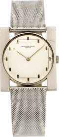 Timepieces:Wristwatch, Audemars Piguet White Gold Gent's Wristwatch, circa 1960. ...