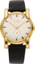 Timepieces:Wristwatch, Patek Philippe Ref. 2428 Vintage Gold Wristwatch, circa 1950. ...