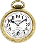 Timepieces:Pocket (post 1900), Illinois 163 Sixty Hour 23 Jewel Bunn Special, circa 1931. ...