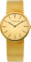 Timepieces:Wristwatch, Audemars Piguet Gent's 18k Gold Wristwatch, circa 1970's. ...