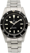 "Timepieces:Wristwatch, Rolex Ref. 5508 ""James Bond"" Submariner, circa 1958. ..."