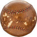 Autographs:Baseballs, Circa 1927 Babe Ruth, Lou Gehrig, Rogers Hornsby & G.C.Alexander Signed Baseball....