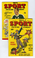 Golden Age (1938-1955):Non-Fiction, True Sport Picture Stories Group (Street & Smith, 1944).... (Total: 2 Comic Books)