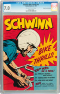 Silver Age (1956-1969):Miscellaneous, Schwinn Bike Thrills #nn Mile High pedigree (Schwinn, 1959) CGC FN/VF 7.0 Off-white to white pages....