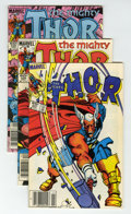 Modern Age (1980-Present):Superhero, Thor Box Lot (Marvel, 1983-92) Condition: Average NM-....