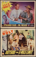 "Movie Posters:Adventure, Outside the 3-Mile Limit and Other Lot (Columbia, 1940). LobbyCards (2) (11"" X 14""). Adventure.. ... (Total: 2 Items)"