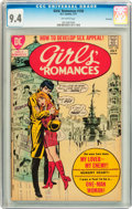 Bronze Age (1970-1979):Romance, Girls' Romances #158 Savannah pedigree (DC, 1971) CGC NM 9.4Off-white pages....