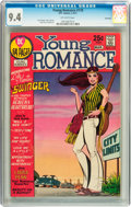 Bronze Age (1970-1979):Romance, Young Romance #170 Savannah pedigree (DC, 1971) CGC NM 9.4Off-white pages....