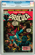 Bronze Age (1970-1979):Horror, Tomb of Dracula #13 Savannah pedigree (Marvel, 1973) CGC NM 9.4Off-white pages....