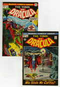Bronze Age (1970-1979):Horror, Tomb of Dracula #2 and 12 Group - Savannah pedigree (Marvel,1972-73) Condition: Average NM-.... (Total: 2 Comic Books)