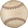 Autographs:Baseballs, 1926 New York Yankees Team Signed Baseball....