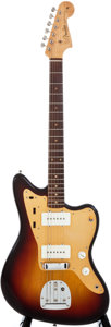 Musical Instruments:Electric Guitars, 1959 Fender Jazzmaster Sunburst Solid Body Electric Guitar, #32102....