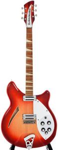 Musical Instruments:Electric Guitars, 1967 Rickenbacker 360 Fireglo Semi-Hollow Body Electric Guitar,#GF3025....