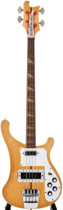 Musical Instruments:Bass Guitars, 1974 Rickenbacker 4001 Mapleglo Electric Bass Guitar, #NG4575....
