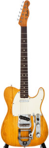 Musical Instruments:Electric Guitars, 1967 Fender Telecaster Natural Solid Body Electric Guitar,#206296....