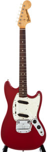 Musical Instruments:Electric Guitars, 1966 Fender Mustang Dakota Red Solid Body Electric Guitar, #183716....