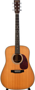 Musical Instruments:Acoustic Guitars, 1996 Martin HD-28 Natural Acoustic Guitar, #592897....